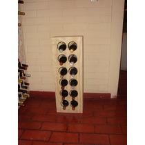 Cava Para Guardar Botellas De Vino. Capacidad 12 Botellas.