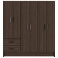 Closet 6 Puertas 2 Cajones Roble- Ikean