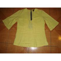 Hermosa Y Exclusiva Blusa Marca Tampu.cl Talla S $5500