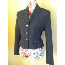 Exclusivo Blazer/chaqueta Azul Femenina Xs (s)