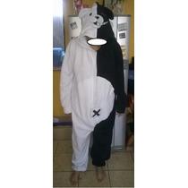 Pijama/disfraz Polar Enterito Oso Monokuma Kigurumi Adultos