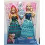 Frozen Anna & Elsa Disney Mattel Nueva Original Sellada