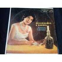 Lp Cachito Y Su Bandoneon Recordando A Gardel