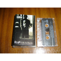 Cassette Korn / Life Is Peachy (edicion Chilena 1996)