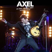 Axel En Vivo Buenos Aires Estadio Velez Dos Discos Cd Dvd