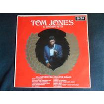 Lp Tom Jones 13 Smash Hits