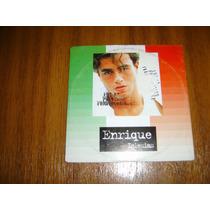 Cd Enrique Iglesias / Single Si Tu Te Vas (promocional)