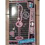 Karaoke De Pedestal De Monster High, Con Micrófono.