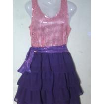 Vestido Disfraz De Violetta