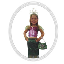 Disfraz Disney Princesa Ariel Sirenita 3 Años