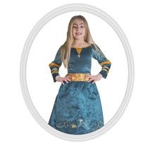 Disfraz De Niña Disney Brave Valiente Deluxe 4 A 5 Años