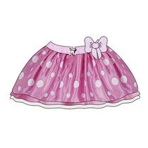 Disfraz De Niña Disney Minnie Falda Con Accesorios