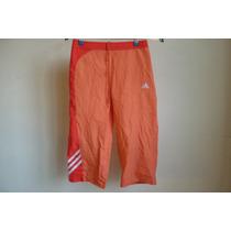 Pantalón Buzo Deporte Niño Niña Adidas Naranjo