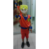 Disfraz Dragon Ball Talla 8