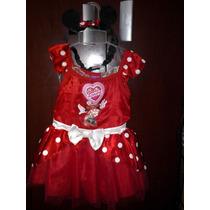 Hermoso Vestido Disfraz Minnie