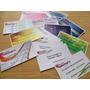 Tarjetas De Presentacion Visita Impresión Laser 100 Unidades