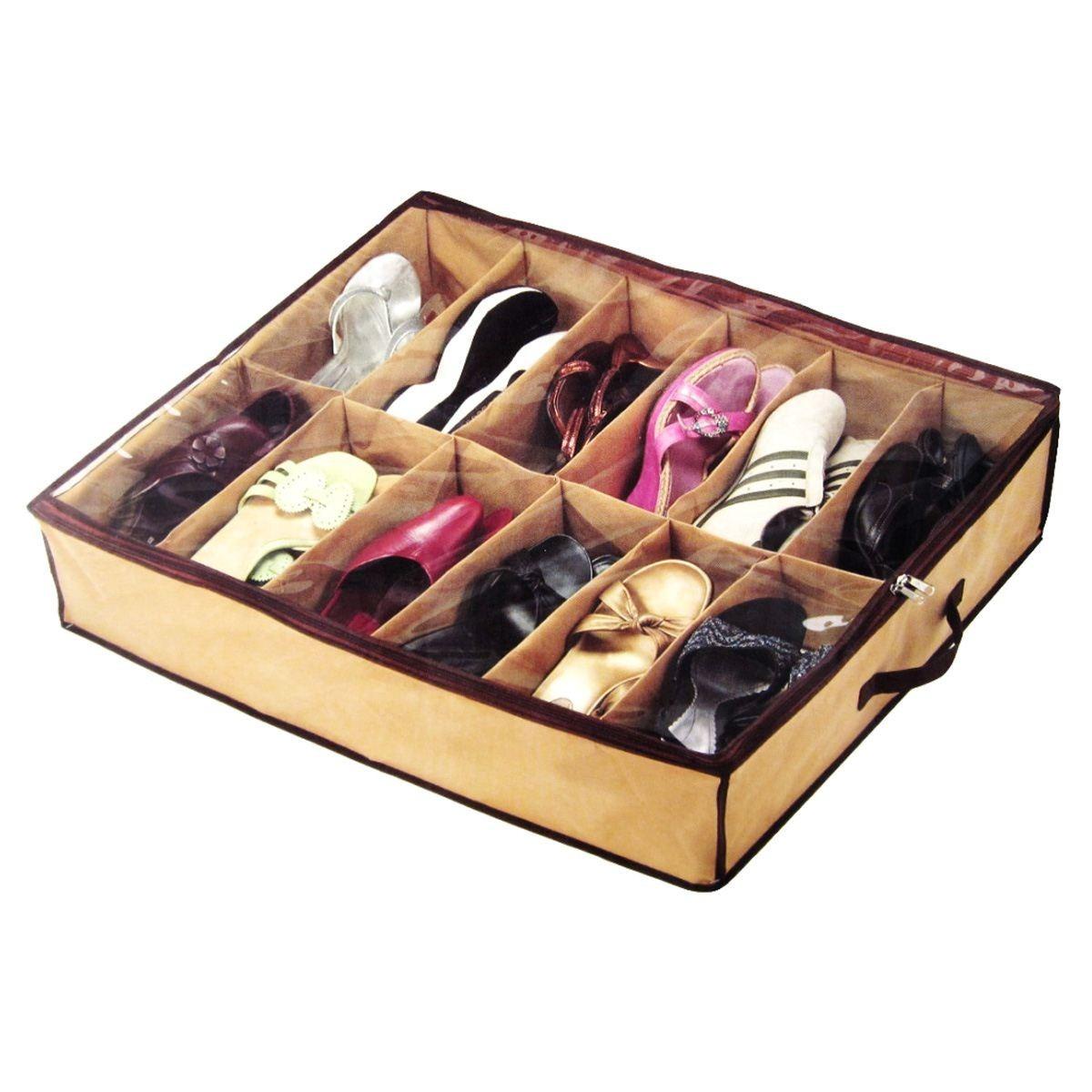 Organizador de zapatos shoes under 12 pares en mercadolibre - Organizador de zapatos ...