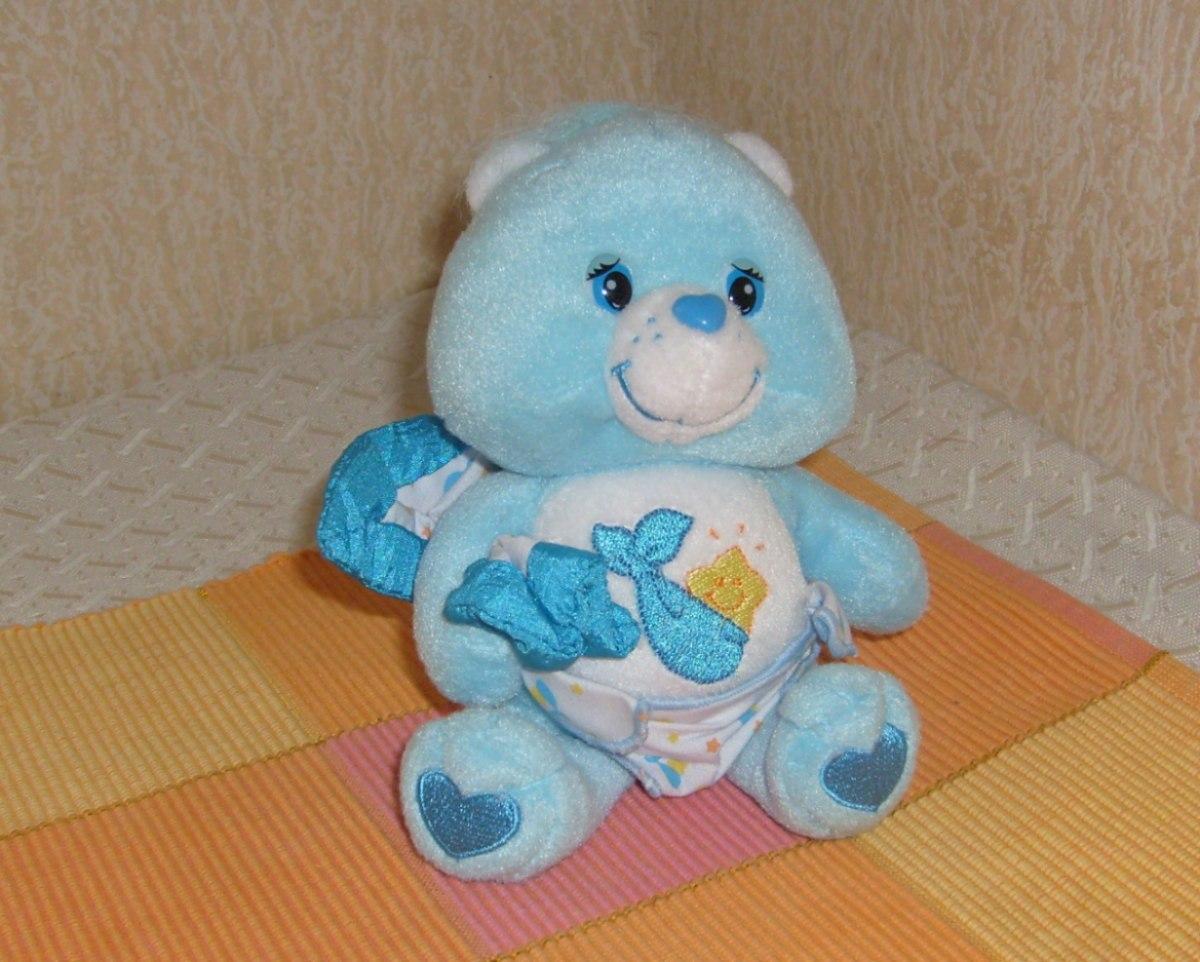 Osito Cariñosito Bebe Celeste 18 Cms - $ 11.900 en MercadoLibre