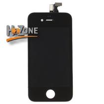 Pantalla Lcd + Digitalizador + Cristal Iphone 4 O 4s, H2zone