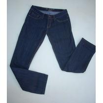Jeans Pitillo Alaniz 38 Azul Oscuro. Casi Nuevo
