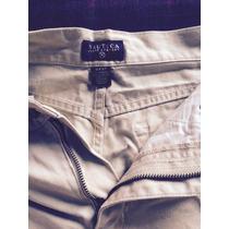 Pantalones Náutica Color Beige
