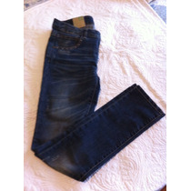 Benetton Jeans 2xl 34 Mujer Nuevo Etiqueta Mod Military Chic