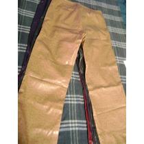 Lindos Pantalones De Eco Cuero Talla S
