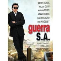 Dvd Original: Guerra S.a. War Inc- Hilary Duff- Cusack-psp