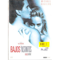 Dvd Original: Bajos Instintos - Sharon Stone - M. Douglas