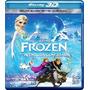 Blu Ray 3d - Frozen (una Aventura Congelada)