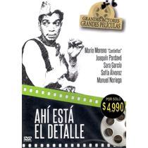 Dvd Original: Cantinflas Ahí Está El Detalle- Pardavé