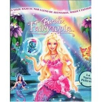 Animeantof: Dvd Barbie Sirena - Fairytopia Mermaidia - Niñas