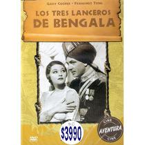 Dvd Original: Los Tres Lanceros De Bengala - Gary Cooper