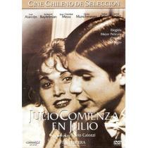 Dvd Original: Cine Chileno: Julio Comienza En Julio - Escaso