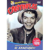 Animeantof: Dvd Cantinflas El Analfabeto- Armando Acosta