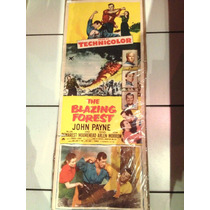 Cartel O Afiche De Cine Antiguo Johnn Payne Aprox 1950