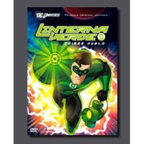 Animeantof: Dvd Linterna Verde- Green Lantern- La Pelicula 1