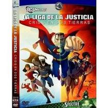 Dvd La Liga De La Justicia Crisis En Dos Mundos- Dos Tierras