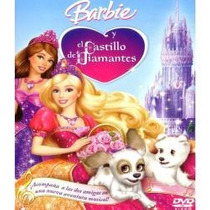 Animeantof: Dvd Barbie El Castillo De Diamantes- Niñas