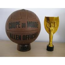 Balón Oficial Mundial Francia 1938. Modelo Allen