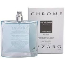Azzaro Chrome 100 Ml Tester Nuevo Y Original