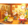 Disney Figuras Porcelana Lote Excusivo 15 Cm Blanca Nieves