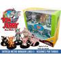 Tom Y Jerry Originales Hanna Barbera Set 6 Figuras Nuevo