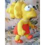 Muñeca Lisa Simpsons De Felpa Nueva 30cm.
