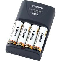 Canon Cb-5ah Cargador Automatico + 4 Pilas Aa 2500mah(nuevo)