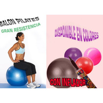 Balon Pilates Grande 65cms. * Con Inflador **