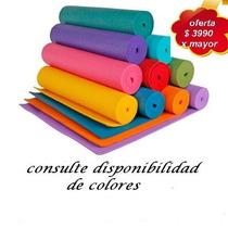 Colchoneta Mat Yoga Pilates Deportes Al Aire Libre