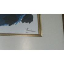 Cuadro Pablo Picasso Litografía, Con Certif. De Autenticidad