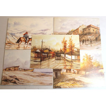Pinturas Santiago Alegria Reproducciones 17 X 13 Cm (5)