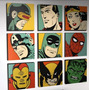 Cuadros Superheroes Modernos Pop Art Marvel Pedidos